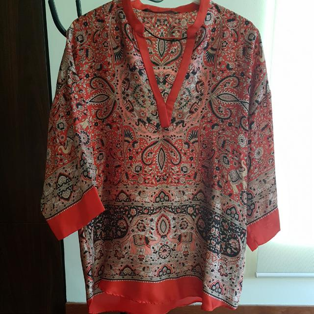 ZARA tunic blouse
