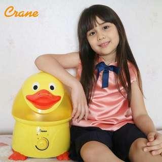 Crane Humidifier Daphnie the Duck Ultrasonic Cool Mist anti flu alergi