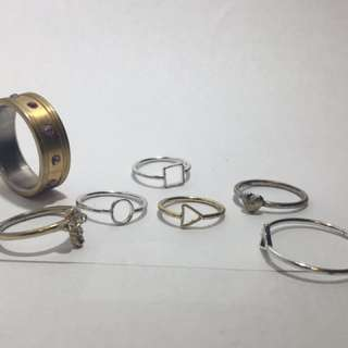 Collection of Rings and Midi rings
