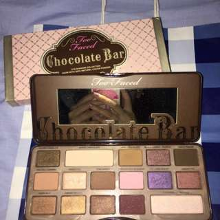 Preloved Too Faced Chocolate Bar Eyeshadow Palette