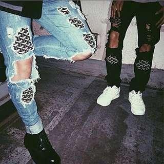Goyard 稀有藍牛仔褲
