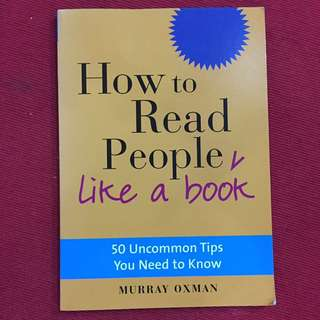 How to read people like a book