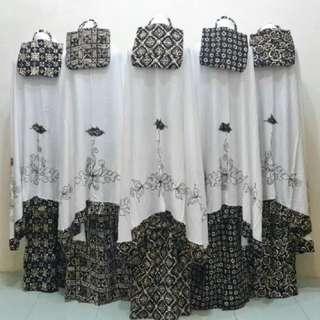 Mukena batik jumbo
