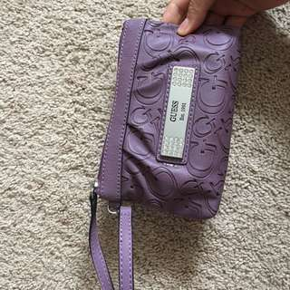 Purple Guess Wallet