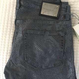 Pierre Balmain Python Jeans