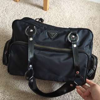 Big Black Guess Bag