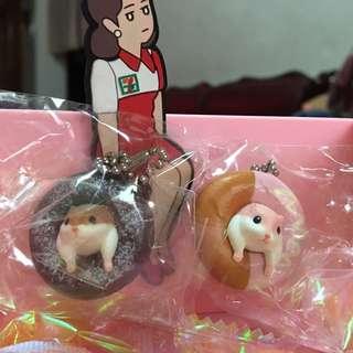 倉鼠甜甜圈扭蛋