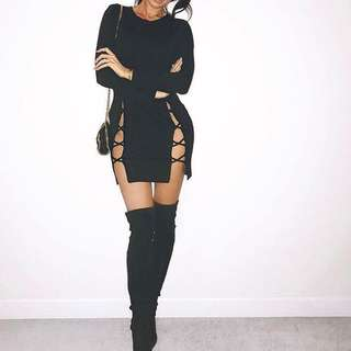 Windsor Store Cut Out Dress