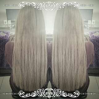 hair extensions + application