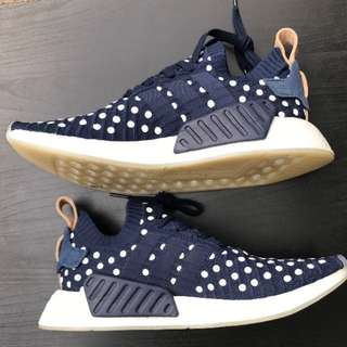 ADIDAS NMD R1 Blue/White Dots