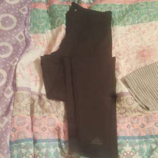 Adidas Climalite Tights Size S