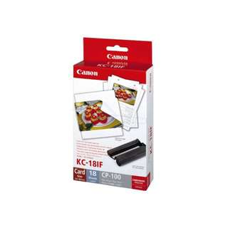 Compact Photo Printer (Canon KC-18IF)
