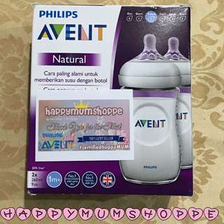 Avent Natural Twinpack white