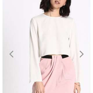 Love Bonito Joelly slit sleeve top