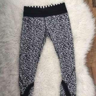 Lululemon Crop Leggings Size 4