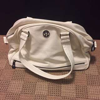 White Lululemon Bag