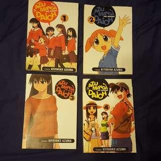 Azumanga Daioh Complete Collection Manga 1-4
