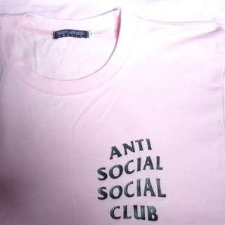 Baby pink anti social social club