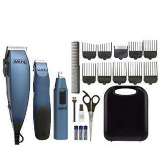 Wahl Hair Cutting Clipper & Trimmer W Bonus Cordless Trimmer & Ear Nose Trimmer Brand New Sealed