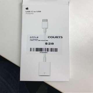 [genuine] Apple USB C To USB Adaptor