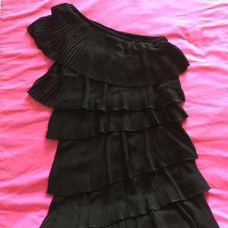 Osmose Ruffle Toga Dress. Wore once