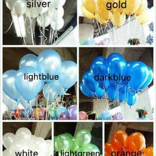 metallic ballon
