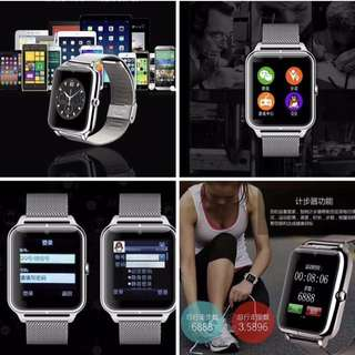 Stainless apple smart watch
