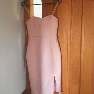Light Pink Dress, Forever New Size 6