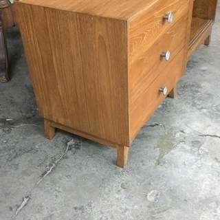 Low Cabinet, Sliding door , Teak wood