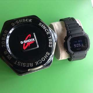 Casio G-Shock DW5600BB. Made in china