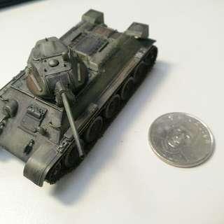 蘇聯T34小坦克模型 已做舊化處理
