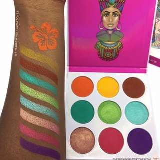 THE ZULU Eyeshadow Palette- JUVIAS PLACE