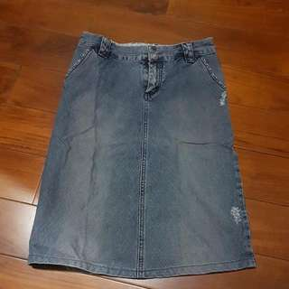 Rok Denim Ripped Size 8