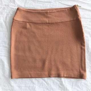 XXI Salmon Mini-Skirt