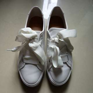 REPRICED! Pull and bear big Laced Sneakers