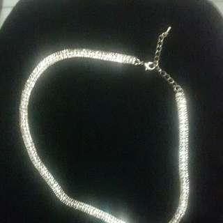 Rose Gold Bejeweled Necklace!