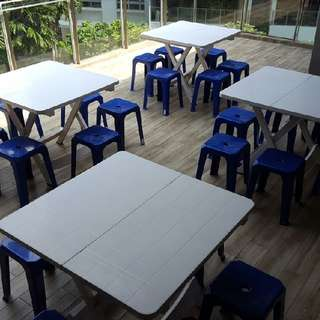 Stools & Tables Rental