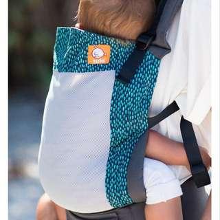 Tula baby carrier with infant insert - Coast Aqua Rain