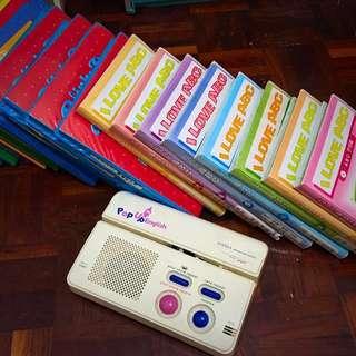 寶寶英文磁條讀卡機(送28本磁卡片