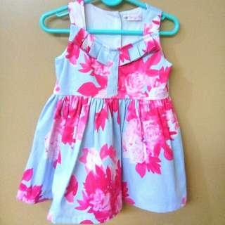 Peppermint Baby Elegant Floral Dress