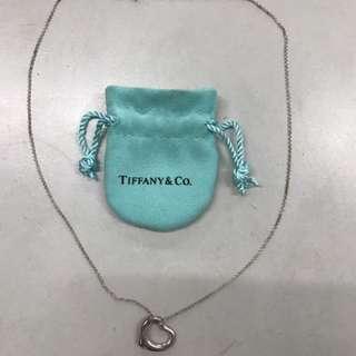 [二手/正品]Tiffany&co.心型項鍊