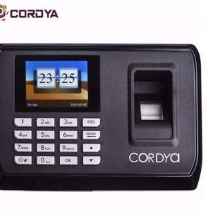Cordya C108U 2.4 TFT LCD Display USB Biometric Fingerprint Attendance Check Time Clock Recorder Free Delivery in all NCR Area Cash on Delivery Nationwide
