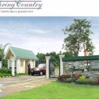 Filinvest Spring Country Capitol Hills Lot Only