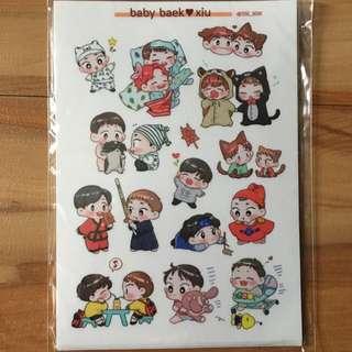 Baekhyun Xiumin Sticker