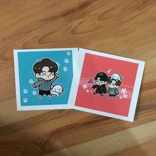 Sehun Chanyeol Sticker