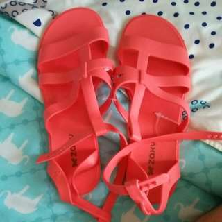 Sandals Coral Pink