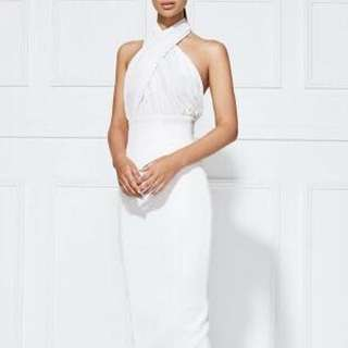 Misha Collection Vedette Dress White