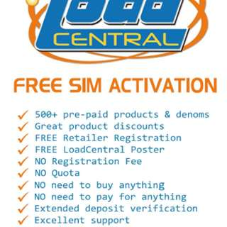 FREE SIM Activation. Load ALL Networks!!!