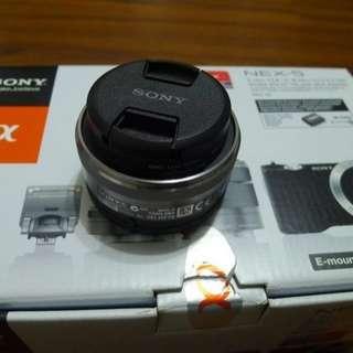 【出售】SONY NEX 16mm F2.8 定焦鏡 公司貨 9成新