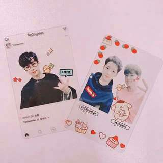(PO) CUSTOMIZE TRANSPARENT CARD